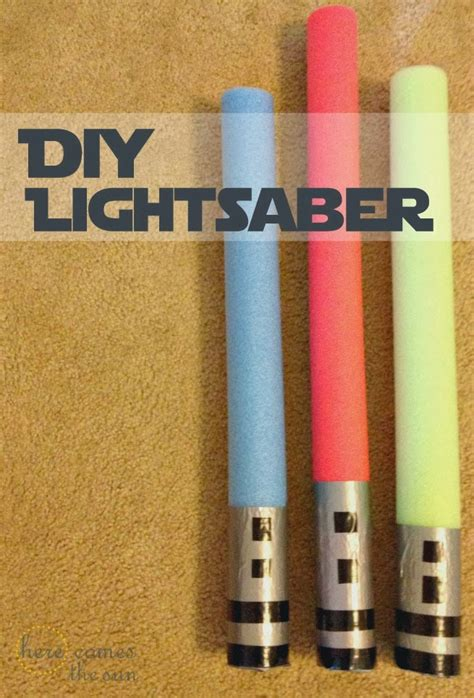 Lightsaber Diy