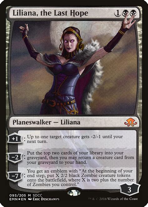 Liliana The Last Hope Deck Build