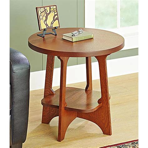 Limbert-Style-End-Table-Plans