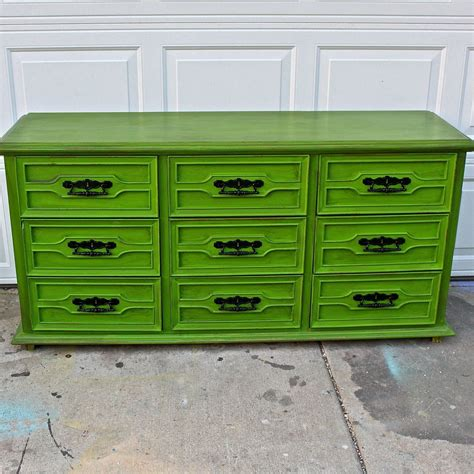 Lime-Green-Dresser-Diy