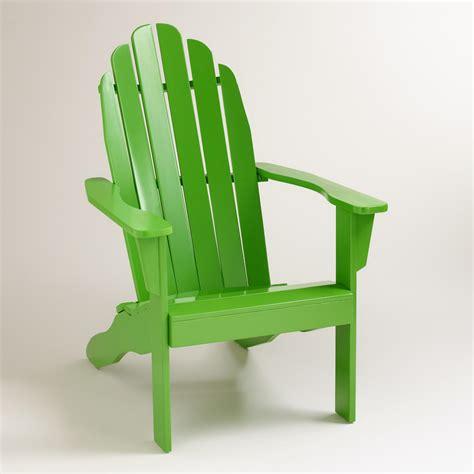 Lime-Green-Resin-Adirondack-Chairs