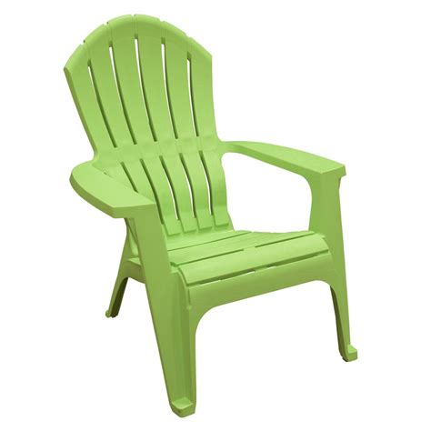 Lime-Resin-Adirondack-Chairs