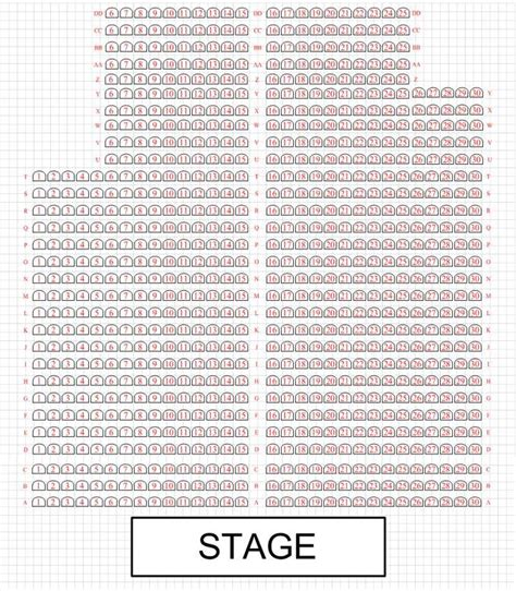 Lincoln Engine Shed Seating Plan