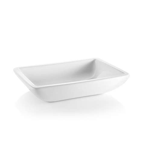 Linea Acquaio Ceramic Rectangular Vessel Bathroom Sink