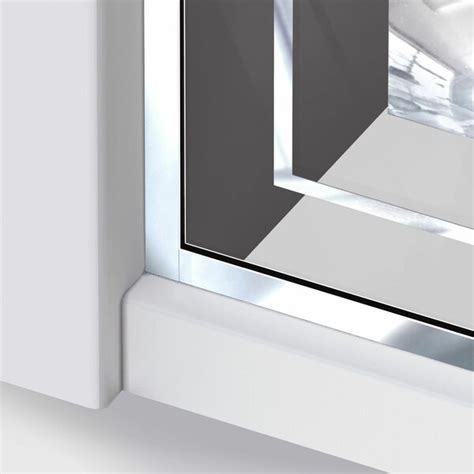 Linea Mira 34 X 72 Single Sliding Frameless Shower Door With Clear Max Technology