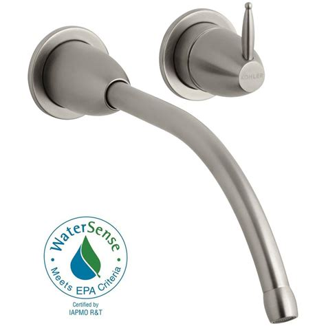 Linea Single Handle Wall Mount Tub Only Faucet Trim Bathroom Lever Handle
