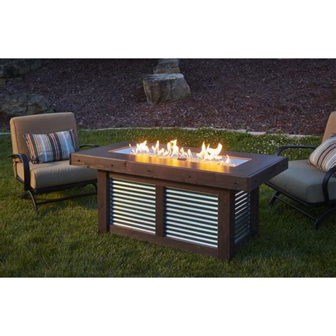 Linear Steel Propane/Natural Gas Fire Pit