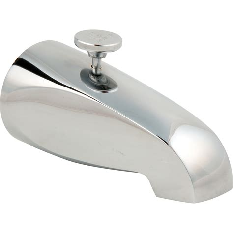 Lineare Spout Tub And Shower Faucet With Diverter