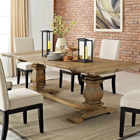 Lineberry Extendable Solid Wood Dining Table
