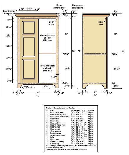 Linen-Cabinet-Plans