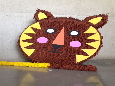 Lion-Pinata-Diy