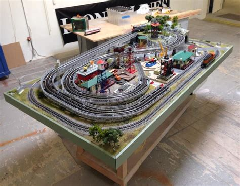 Lionel-Train-Table-Plans