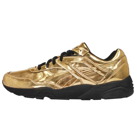 Liquid Gold Puma Sneakers