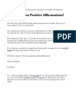 [pdf] List Of 203 Power Affirmations - 488 Recorded Affirmations.