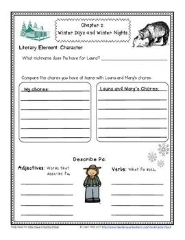 Little House In The Big Woods Lesson Plans 1st Grade
