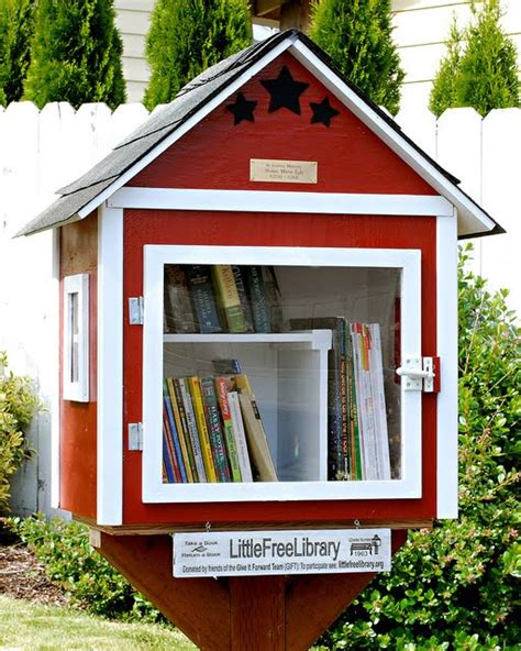 Little Library Plans Craftsman