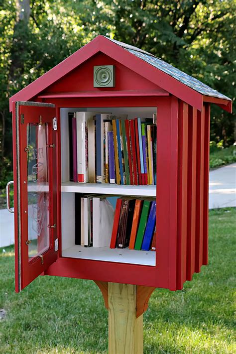Little Library Plans How To Make