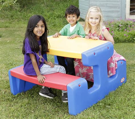 Little Tikes Large Picnic Table Primary