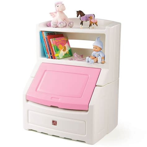 Little Tikes Toy Box With Bookshelf Sale