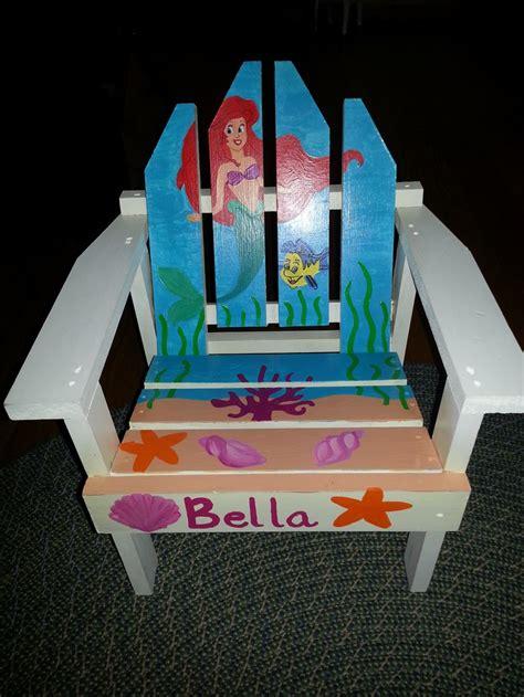 Little-Mermaid-Adirondack-Chair