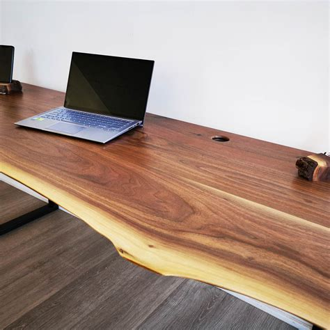 Live Edge Wood Desk