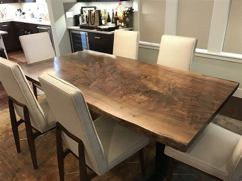Live Edge Wood Dining Tables Seattle