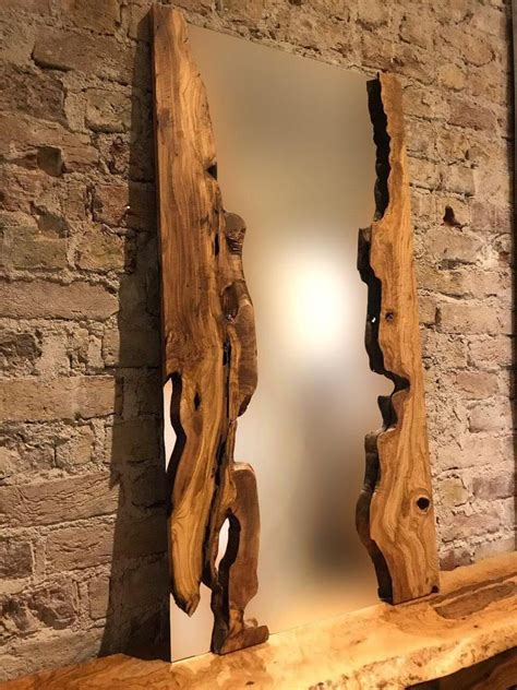 Live Edge Wood Mirror Diy