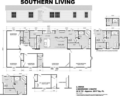 Live Oak Mobile Homes Ultimate Floor Plans