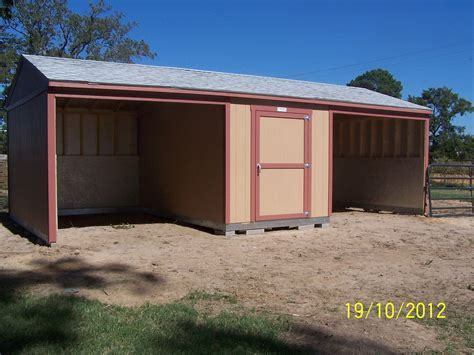 Loafing-Shed-With-Tack-Room-Plans