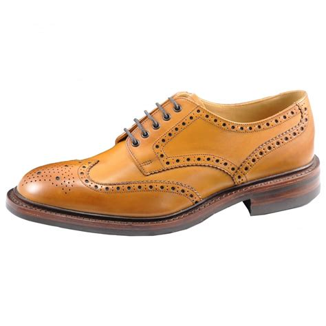 Loake Chester Rubber Sole Mens Brogue