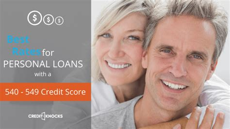 Loans With 540 Credit Score