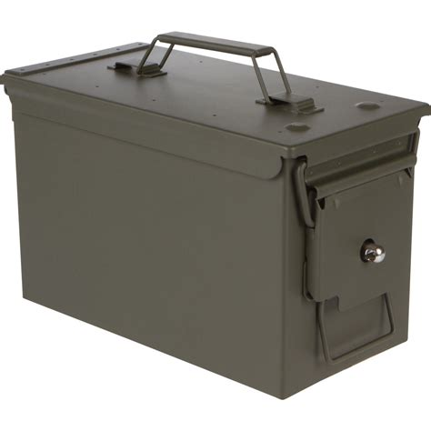 Lockable Metal Ammo Box And Plano 1312 Ammo Box