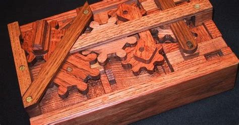 Locking Puzzle Box Plans Free