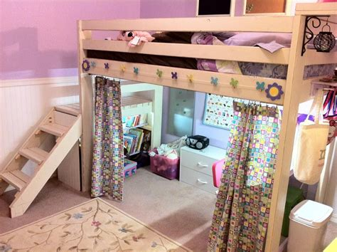 Loft Bed Curtains Diy Project