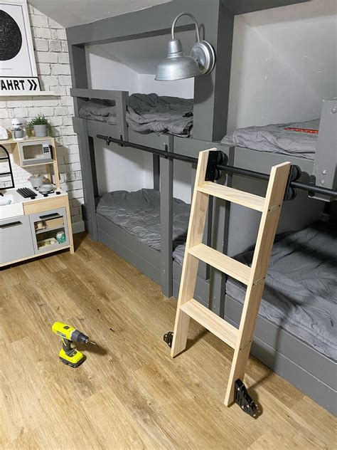 Loft Bed Ladder Diy