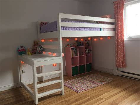 Loft Bed Plans Free Ana White
