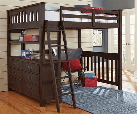 Loft Bed Queen Size