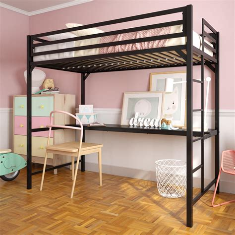 Loft Bed With Dresser Desk