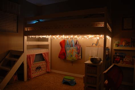 Loft Bed With Room Underneath Diy Christmas