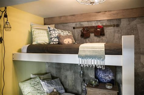 Loft Bed With Room Underneath Diy Network