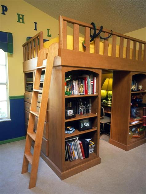 Loft Bed With Storage Diy Ideas
