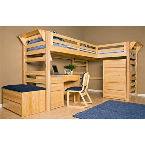 Loft-Bed-Plans-Twin-Xl