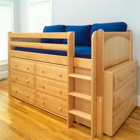 Loft-Bed-With-Dresser-Plans-Free