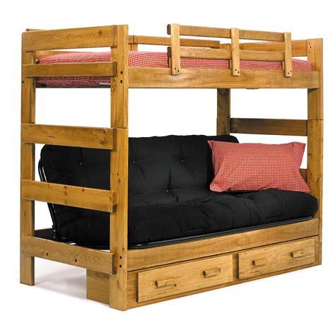 Loft-Bed-With-Futon-Plans