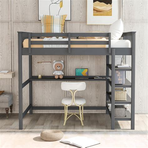 Loft-Bed-With-Storage-Plans