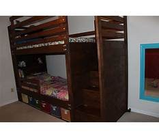 Best Loft bed step plans