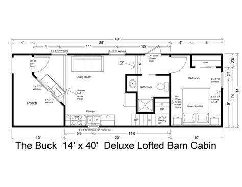 Lofted-Barn-Cabin-Plans-14-X-40