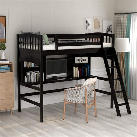 Lofy-Bed-Woth-Desk-Plans