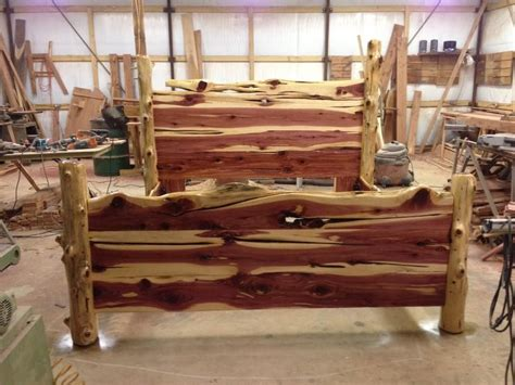 Log Bed Frame Plans