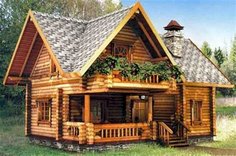 Log Cabin Designs Small